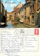 Montargis, Loiret, France Postcard Posted 1993 Stamp - Montargis