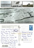 Gold Beach, Port-Winston, Calvados, France Postcard Posted 2009 Stamp - Sonstige Gemeinden