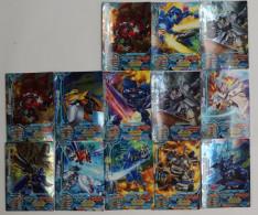 Cho Soku Henkei Gyrozetter  : 13 Japanese Trading Cards - Trading Cards