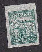 Latvia, Scott #50, Mint Hinged, Liberation Of Riga, Issued 1919 - Latvia