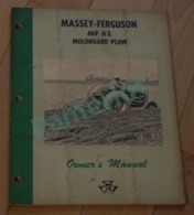 Vieux Tracteur - Publicité De Concessionnaire, Massey-Furgusson, Owner's Manual 26 Pages  -1 Scans - Tractors