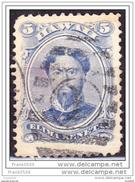 Hawaii 1866,  King Kamehameha V, 5c, Used - Hawaii