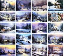 20 Postcards Of Christmas Xmas Holiday Santa Day,  Postkarte Carte Postale 7t11 - Santa Claus