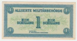 AUSTRIA 1 SCHILLING 1944 XF+ Pick 103b 103 B - Autriche