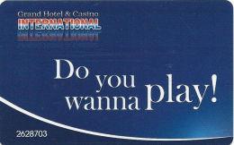 Grand Casino International - Varna, Bulgaria - Slot Card - Casino Cards