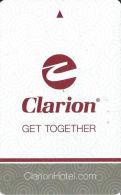 Clarion Hotel Room Key