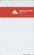 Austria Trend - Hotel Ananas Wien - Hotel Room Key Card - Hotel Keycards