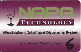 NAPA Technology - WineStation Intelligent Dispensing System Tasting Card - Other