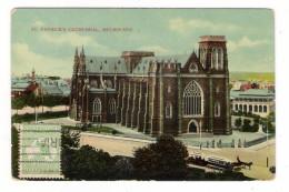 AUSTRALIE  /  MELBOURNE  /  SAINT-PATRICK ' S  CATHEDRAL  ( Tramway à Chevaux ) - Melbourne