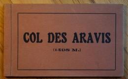 74 : Col Des Aravis - Carnet Incomplet : 9 Vues - La Clusaz - Route De La Giettaz ... - Francia
