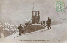 Chamonix - Sommet Du Mont-Blanc Et L'Observatoire Janssen - Carte J.J. N° 6126 - Chamonix-Mont-Blanc