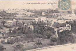 G , Cp , 86 , L'ISLE-JOURDAIN , Vue Générale - L'Isle Jourdain