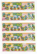 "KINDER - 1995 - Lotto 5 Cartine Serie  "" HAPPY DINOS "" - (FDC1866) - Lotti"