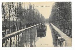 LERE   (cpa 18)   Le Canal ( Péniche ) -    - L 1 - Lere