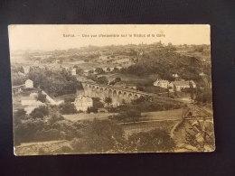 Sarlat Une Vue D Ensemble Sur Le Viaduc Et La Gare - Sarlat La Caneda