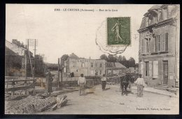 LE CHESNE 08 - Rue De La Gare - Le Chesne