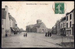 BARNEVILLE SUR MER 50 - Place De L'Eglise - Jolie Vue - Barneville