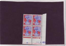 N° 1234 - 0,25F MARIANNE A LA NEF - I De I+J - Tirage Du 1.11.60 Au 26.4.60 - 4.4.1960 - - 1960-1969