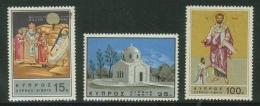 Chypre // 1966 // 19ème Centenaire De La Mort De Saint Barnabé  Y & T No. 257-259 Timtres  Neufs ** - Chypre (République)