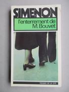 L'enterrement De M. Bouvet (Simenon) éditions Presses De La Cité De 1976 - Simenon