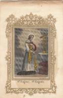 SANTINO HOLY CARD SANT'EUGENIO - PRIMI NOVECENTO  (52N - Images Religieuses