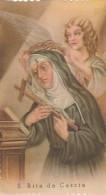 SANTINO HOLY CARD S.RITA DA CASCIA - PRIMI 900 (86N - Images Religieuses