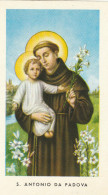 SANTINO HOLY CARD S.ANTONIO DA PADOVA META 900 (63Z - Images Religieuses