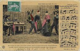 43)   L'ei Viista Ma Miâ  (  Bourrée  ) - Extrait Du Reccueil Bourrées Du Velay De M. THOMAS  Editeur Ch. Barbé LE PUY - Le Puy En Velay