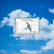 Tanzanie. Tanzania  1999. Blue Swallow    Hirundo Atrocaerulea
