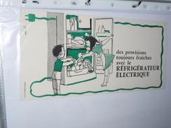 BUVARD-   Refrigerateur Electrique - Elettricità & Gas