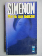 Marie Qui Louche (Simenon) éditions Presses Pocket De 1972 - Simenon
