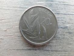 Belgique  20  Francs  Fl  1981  Km 160 - 1951-1993: Baudouin I
