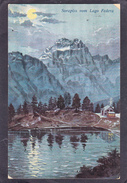 Old Postcard Of Sorapiss,vom Lago Federa,Dolomites,Veneto Region,Italy, .Posted With Stamp,J47. - Italia