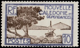 NEW CALEDONIA - Scott #140 Bay Of Palétuviers Point / Mint NG Stamp - New Caledonia