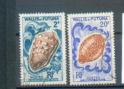 Wallis 156 - YT 164 Et 167 Obli - Wallis Und Futuna
