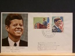 58/362  FDC    SAN MARIN - Kennedy (John F.)