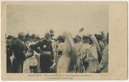Amiral Philibert Né à Besançon Revue Dames  Croix Rouge à Casablanca Infirmieres Red Cross Nurses Tirage Spido Gaumont - Croix-Rouge