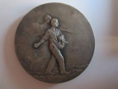 Médaille Société D'agriculture De L'indre Indre 36 Dans Son Coffret Ets Elba Paris - Professionals / Firms