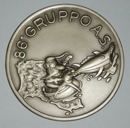 "Large - CREST 86"" GRUPPO A.S.  - Italian Air Force - Aviazione"
