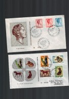 Luxembourg 2   F D C - FDC