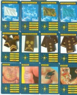 RARE * COMPLETE SET 36 TELEFOONKAARTEN * SFOR NEDERLAND FL 50,00 Soldiers On Mission LIMITED EDITION * PHONECARDS - Leger