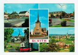 13614   Cpm   SAINT WITH  : Multivues  , 1985 ; ACHAT DIRECT !! - Saint-Vith - Sankt Vith