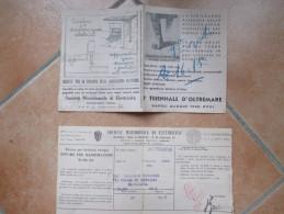 1940 Napoli Maggio 1940 I Triennale D'OLTREMARE Pubblicità Su Fattura Società Merdionale Elettricità - Italia