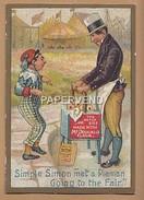Advertising  McDougall's Flour  Simple Simon Met A Pieman  Going To The Fair 43 - Advertising