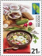 Russland Russia 2016 MNH ** Mi Nr. 2267 RCC National Cuisine - Unused Stamps