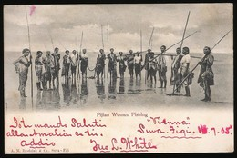 Fijian Women Fishing - Fiji