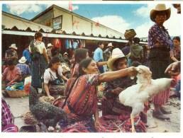 AK Guatemala 1993 Solola Market Markt - Guatemala