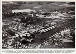 1950 - Iconographie Documentaire - Feignies (Nord) - Les Aciéries -  FRANCO DE PORT - Old Paper