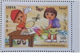 Libya 2015NEW MNH Stamp - Internation Children Day - Comics - Dora - Butterfly - Libya