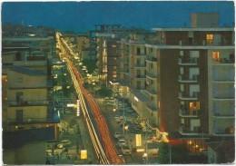 T734 Igea Marina (Rimini) - Panorama Di Notte - Notturno Night Nuit Nacht Noche / Non Viaggiata - Italie